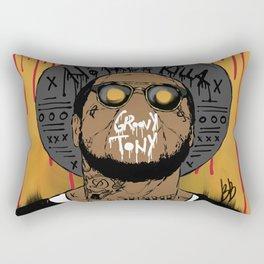 Schoolboy Q Rectangular Pillow