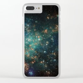 Spacescape Clear iPhone Case