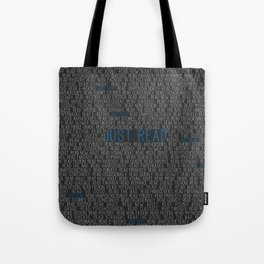 Just Read Tote Bag