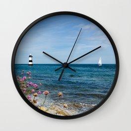Lighthouse at Penmon Wall Clock
