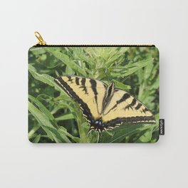 Swallowtail at Rest on Greenery Carry-All Pouch