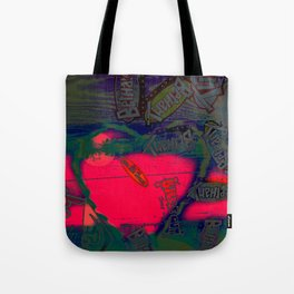 With All my Heart Remix Tote Bag