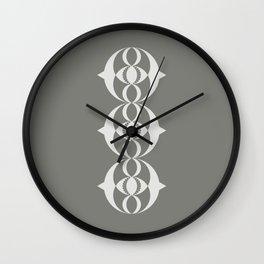 Alien crop circle, Sacred geometry Wall Clock