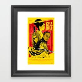 K. B. Framed Art Print