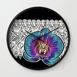 Orchid- Catalyst Gardens Wall Clock