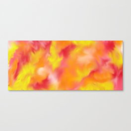 spring swirl Canvas Print