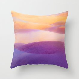 Seven Colored Earth Throw Pillow