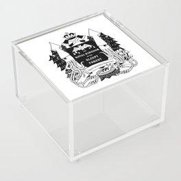 The Royal Kingdom of the Sleepy Forest Acrylic Box