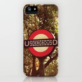 Going Underground iPhone Case