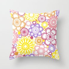 BOLD & BEAUTIFUL summertime Throw Pillow