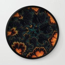 Pumpkin Patch Papi Wall Clock