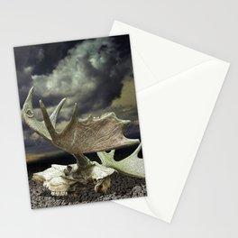 Moose Skull Stationery Cards