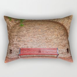 Once Upon a Bench Rectangular Pillow