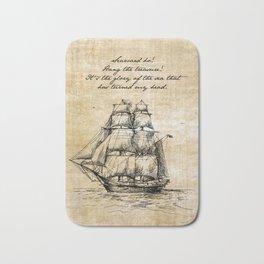 Treasure Island - Robert Louis Stevenson Bath Mat