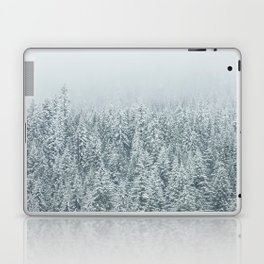 White Forest Laptop & iPad Skin
