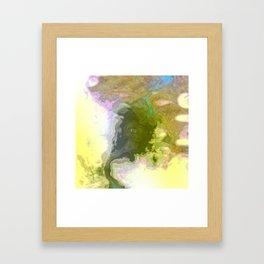 Seismic Waterway Framed Art Print