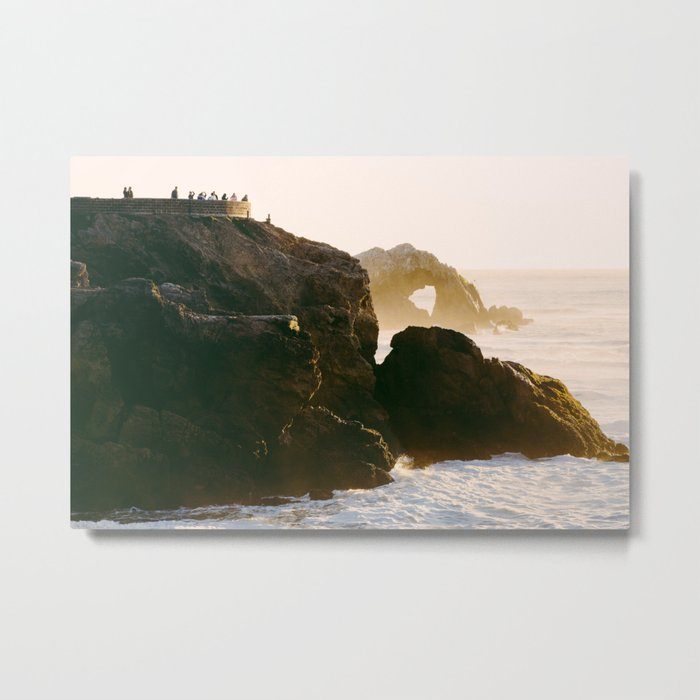 Seal Rocks Metal Print