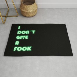 I Don't Give a Fook Rug