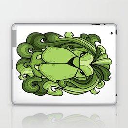 Lion - Greenery Green Laptop & iPad Skin