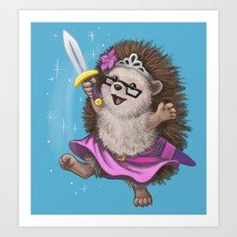 Prickly Princess Lorelei Art Print