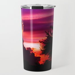 Blazing Sunset Travel Mug