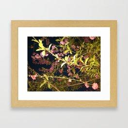 Flowers in the Sky 1 Framed Art Print