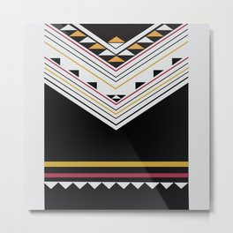 American Native Pattern No. 86 Metal Print