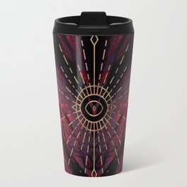Scarlet Heart Mineral Eye Travel Mug
