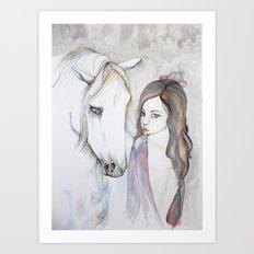 Gypsy and Companion Art Print