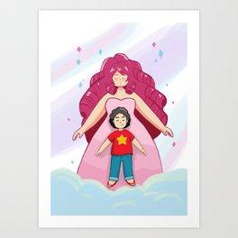 Rose + Steven Art Print