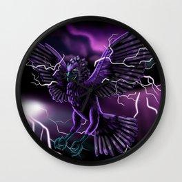 Lightning Bird Wall Clock