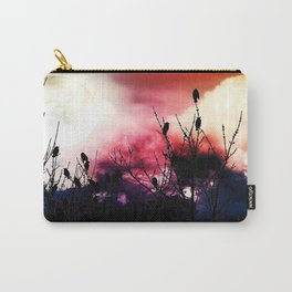 Moon Birds Carry-All Pouch