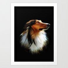 Lassie Art Print