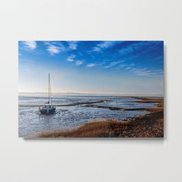 PATHLESS BLUE Metal Print