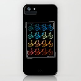 Cycling Road Bike Bicycle Bike Tour iPhone Case