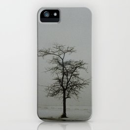 Reaching out for the tree next to it iPhone Case