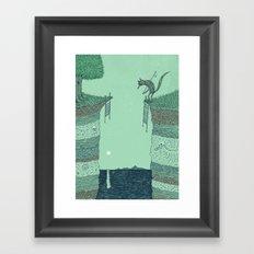 'Broken Bridge' (Colour) Framed Art Print