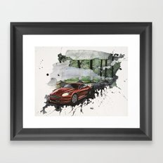 Keep Driving  Framed Art Print