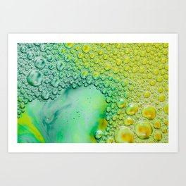 Photography, Photo Print, Wall Art Office Image, Office Print, Bubble Photo, Colorful Pic, Work Spac Art Print