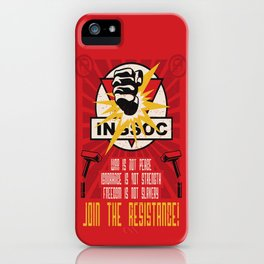 Join The Resistance iPhone Case