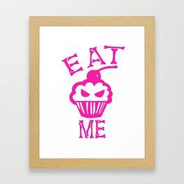 Eat Me (Magenta Version) Framed Art Print