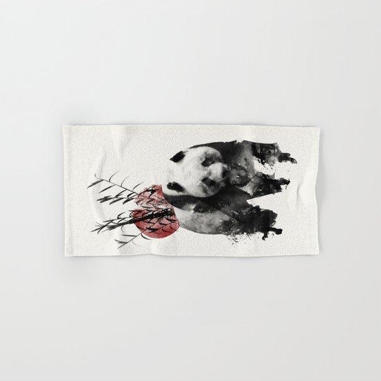 Rising Sun Panda Hand & Bath Towel