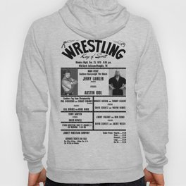 #5 Memphis Wrestling Window Card Hoody