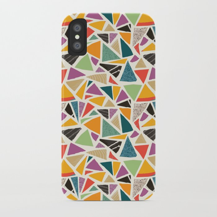 Triangle Treat Mosaic iPhone Case