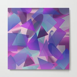 Abstract cube II Metal Print