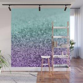 Mermaid Girls Glitter #9 #shiny #decor #art #society6 Wall Mural
