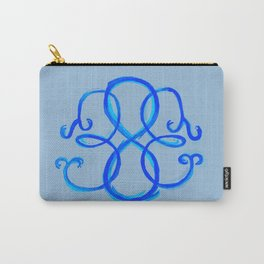 Path Of Life - Blue Carry-All Pouch