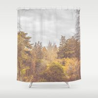 once upon a  time Shower Curtains featuring Once Upon a Time by Rafael Igualada