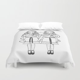 Come Play With Us Danny Duvet Cover