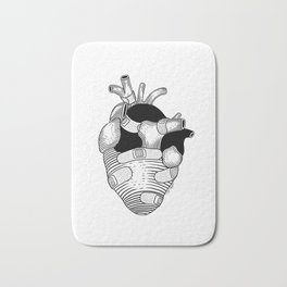 The strongest hearts have the most scars Bath Mat